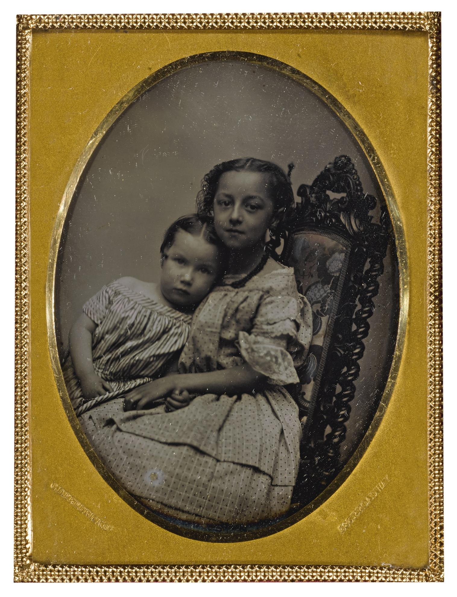Charles Deforest Fredricks - Affectionate Sisters-1850