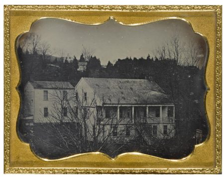 Anonymous American Photographer - Greek Revival House-1840