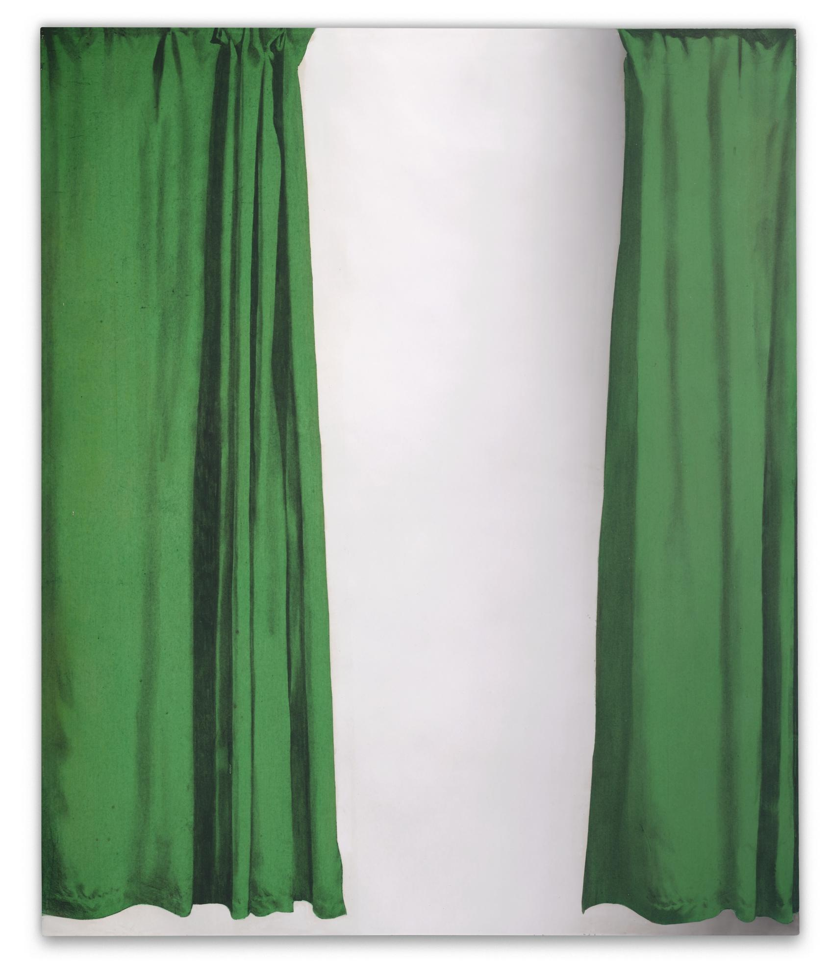 Michelangelo Pistoletto-Tendine Verdi-1966