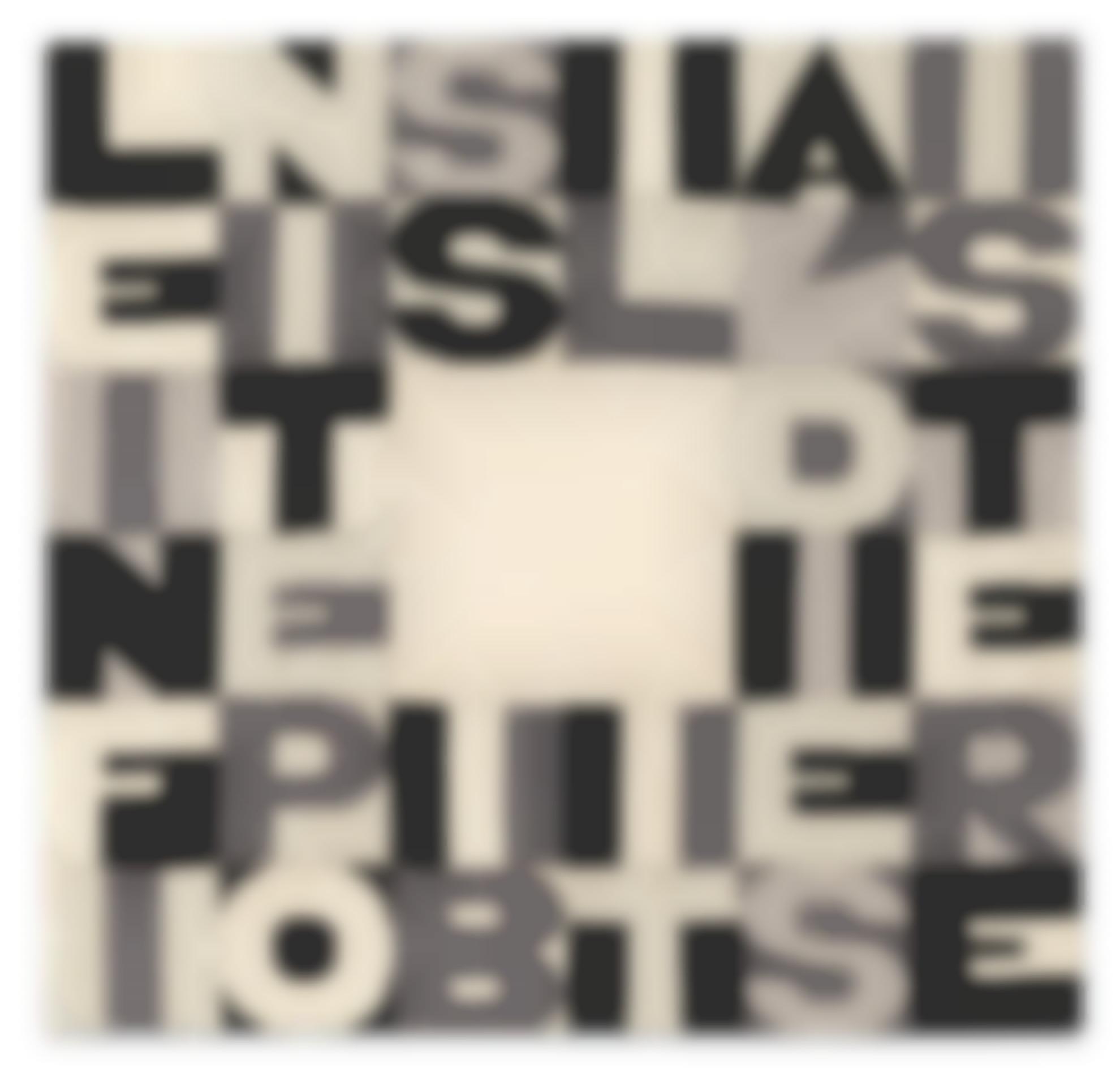 Alighiero Boetti-Le Infinite Possibilita Di Esistere-1990