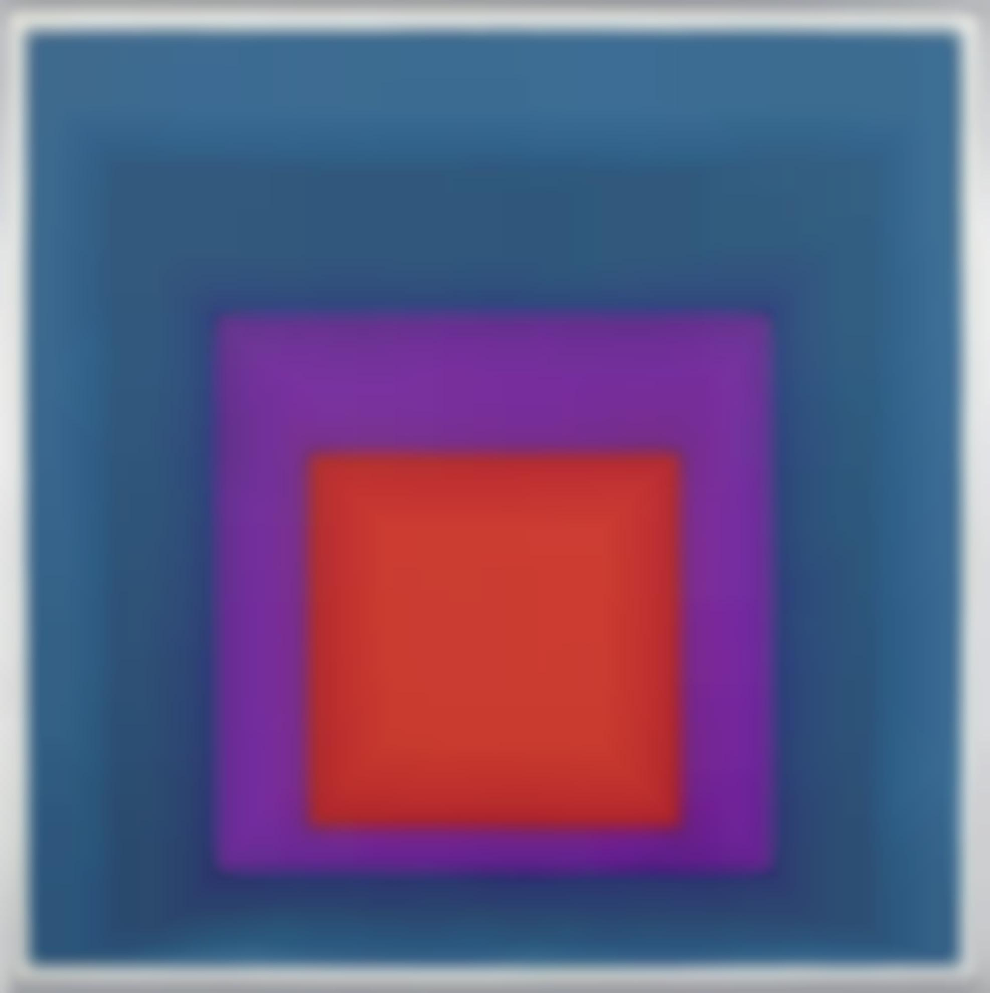 Josef Albers-Homage To The Square: Temperate-1957