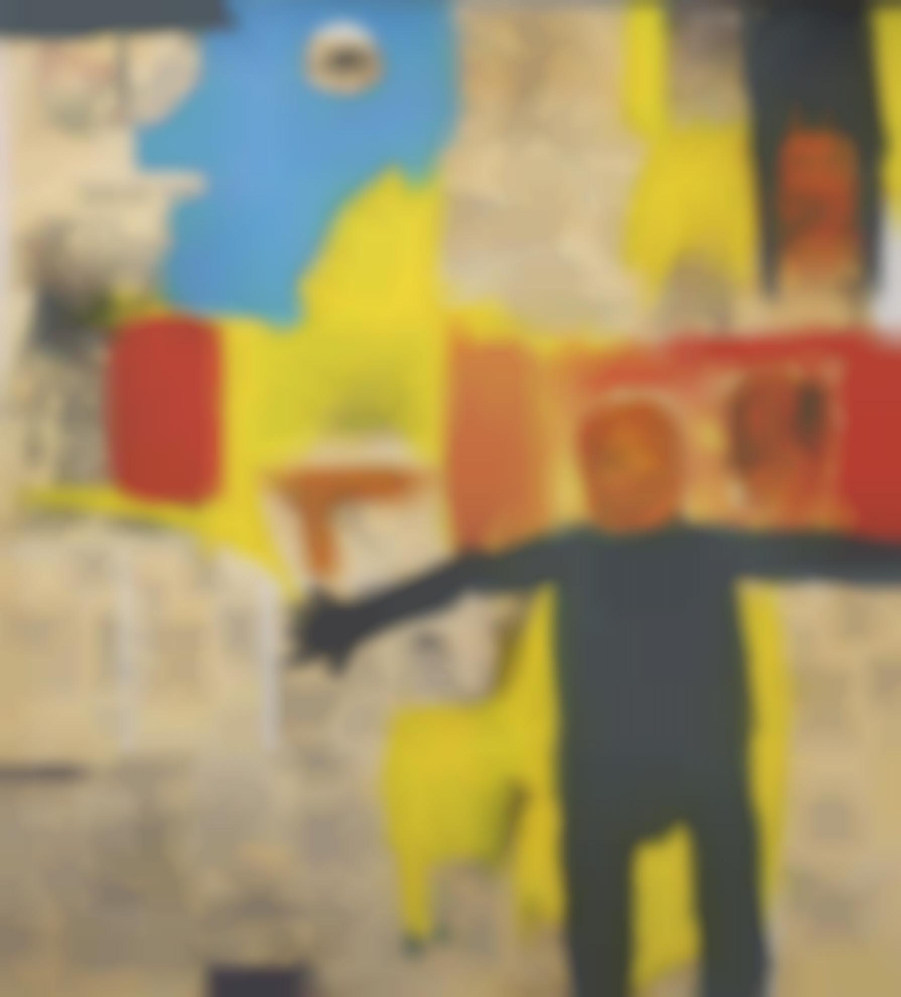 Jean-Michel Basquiat-Remote Commander-1984