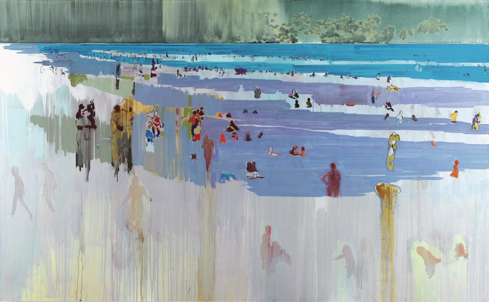 Hurvin Anderson-Untitled (Beach Scene)-2003