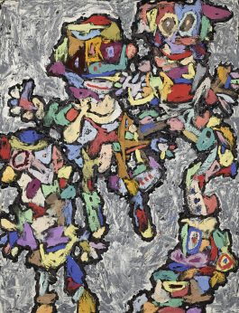 Jean Dubuffet-Cortege-1961