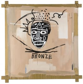 Jean-Michel Basquiat-Bronze