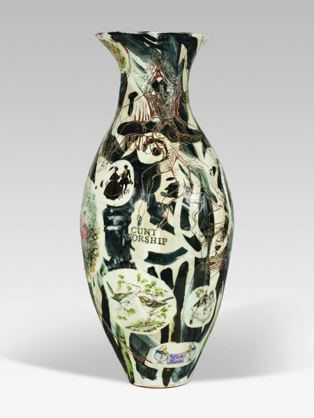 Grayson Perry-Untitled (Cunt Worship)-1990