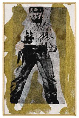 Richard Pettibone-Andy Warhol, Double Elvis, 1964-1975
