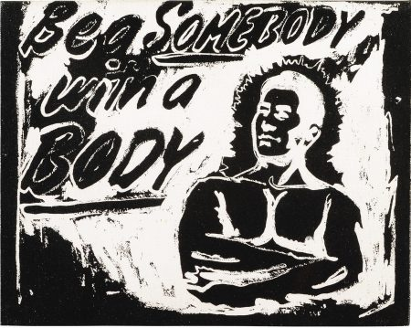 Andy Warhol-Be A Somebody With A Body-1985