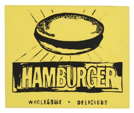 Andy Warhol-Hamburger-1986