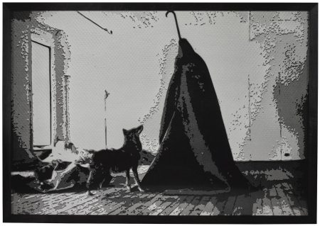 Vik Muniz-Coyote (I Love America And America Loves Me), After Joseph Beuys (Pictures Of Paper)-2008