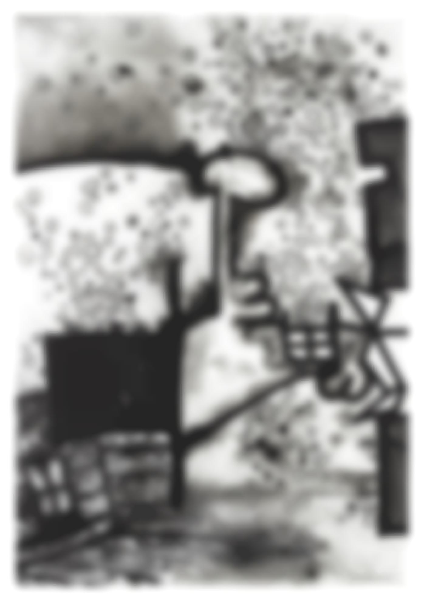 Carroll Dunham-Mesokingdom Thirteen (Dust)-2002