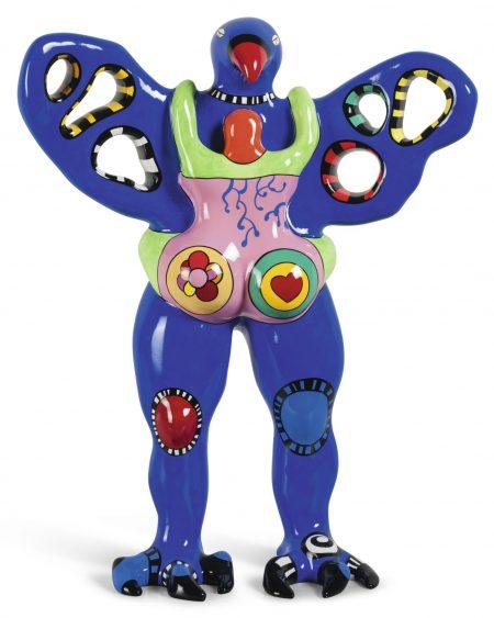 Niki de Saint Phalle-Loiseau Amoureux Vase-2000