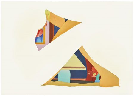 Tom Wesselmann-Study For Bedroom Painting #71 (Double Drop-Out)-1982