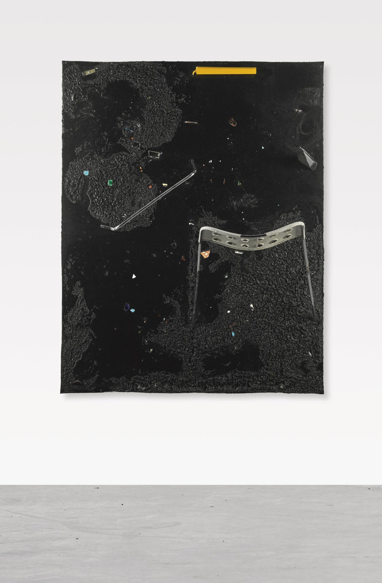 Piero Golia-Constellation Painting #13-2011