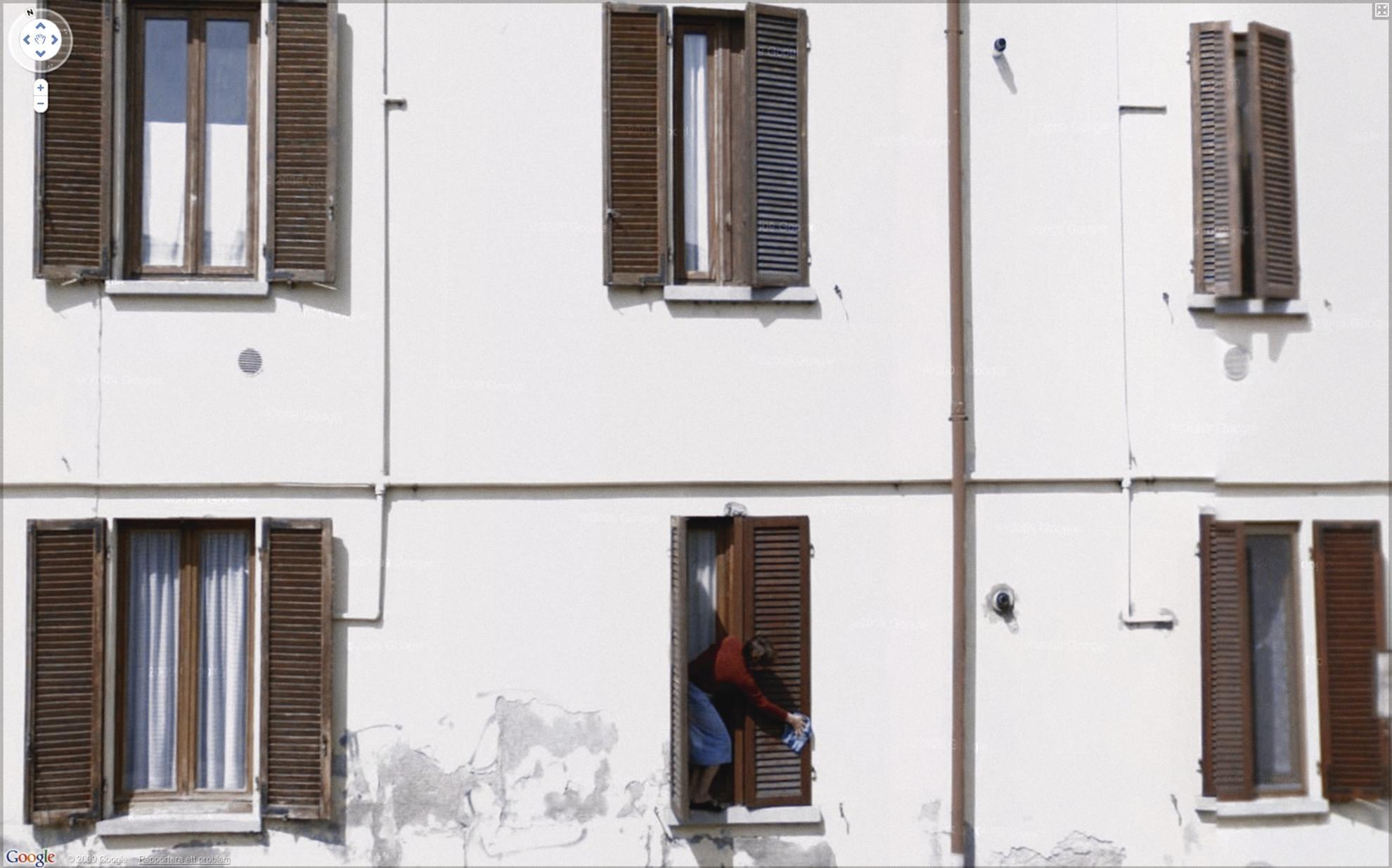 Jon Rafman-Via Colombo, Mediglia, Lombardy, Italy - Google View-2009