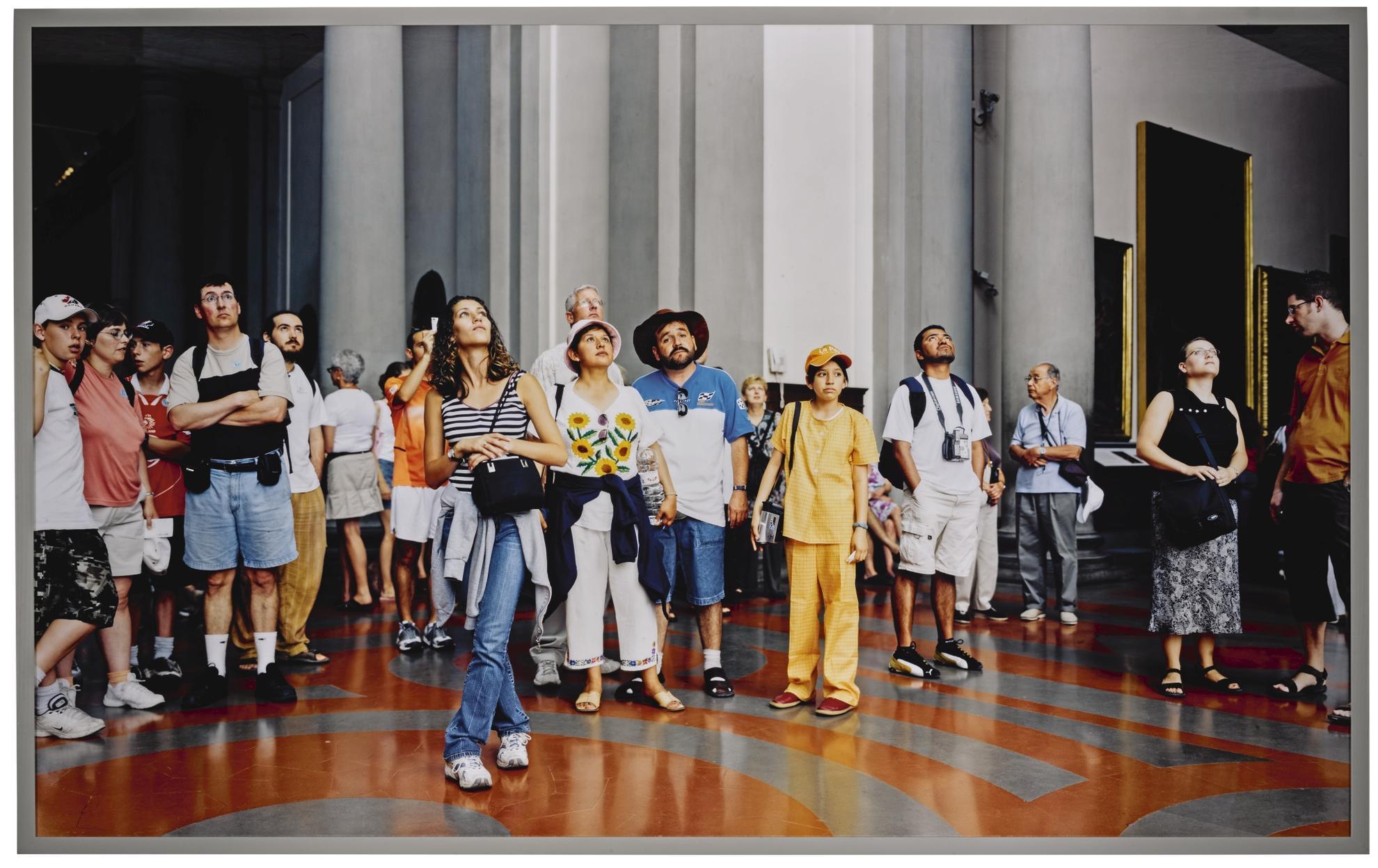 Thomas Struth-Audience 07 (Galleria Dellaccademia), Florenz-2004