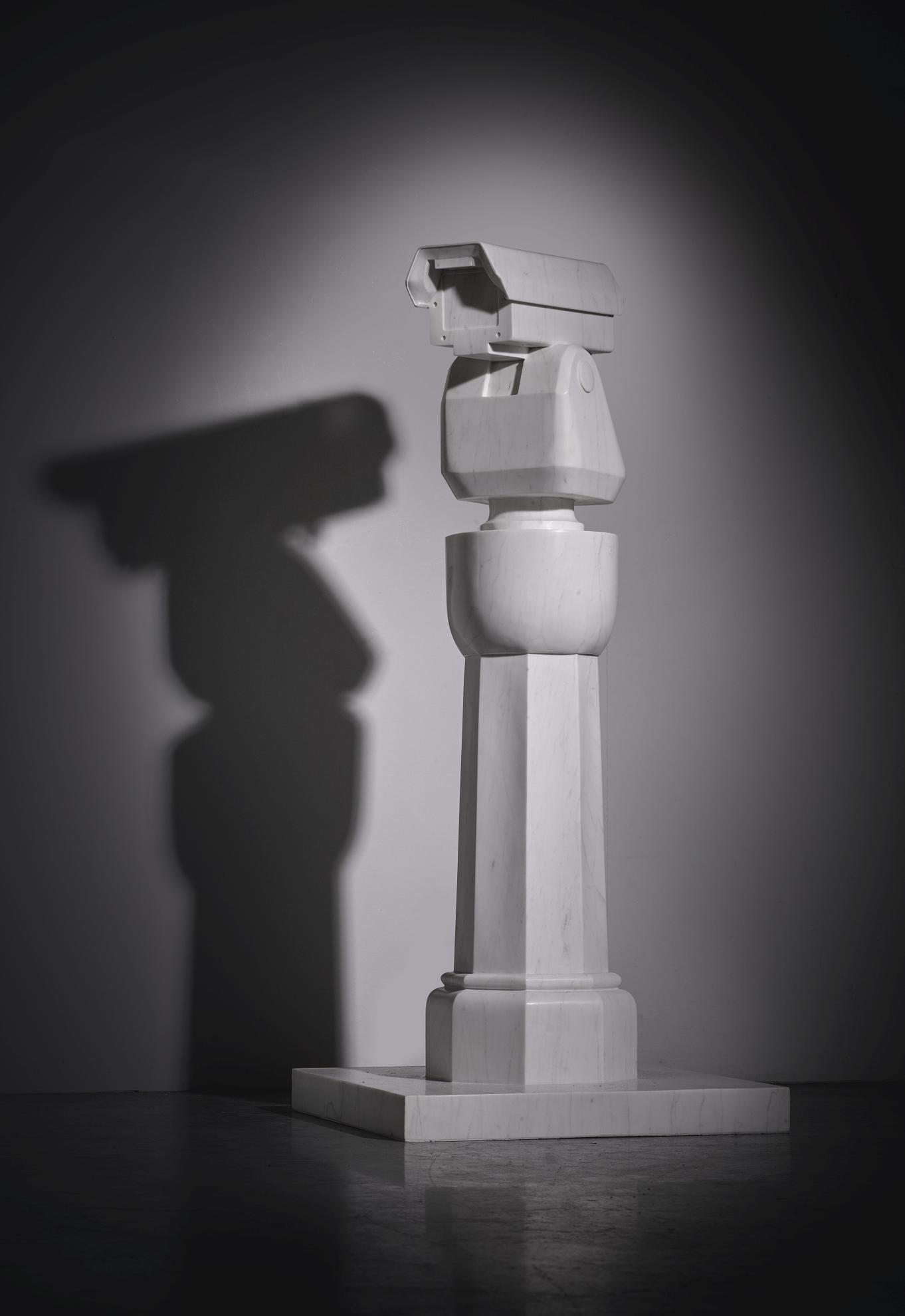 Ai Weiwei-Surveillance Camera And Plinth-2015
