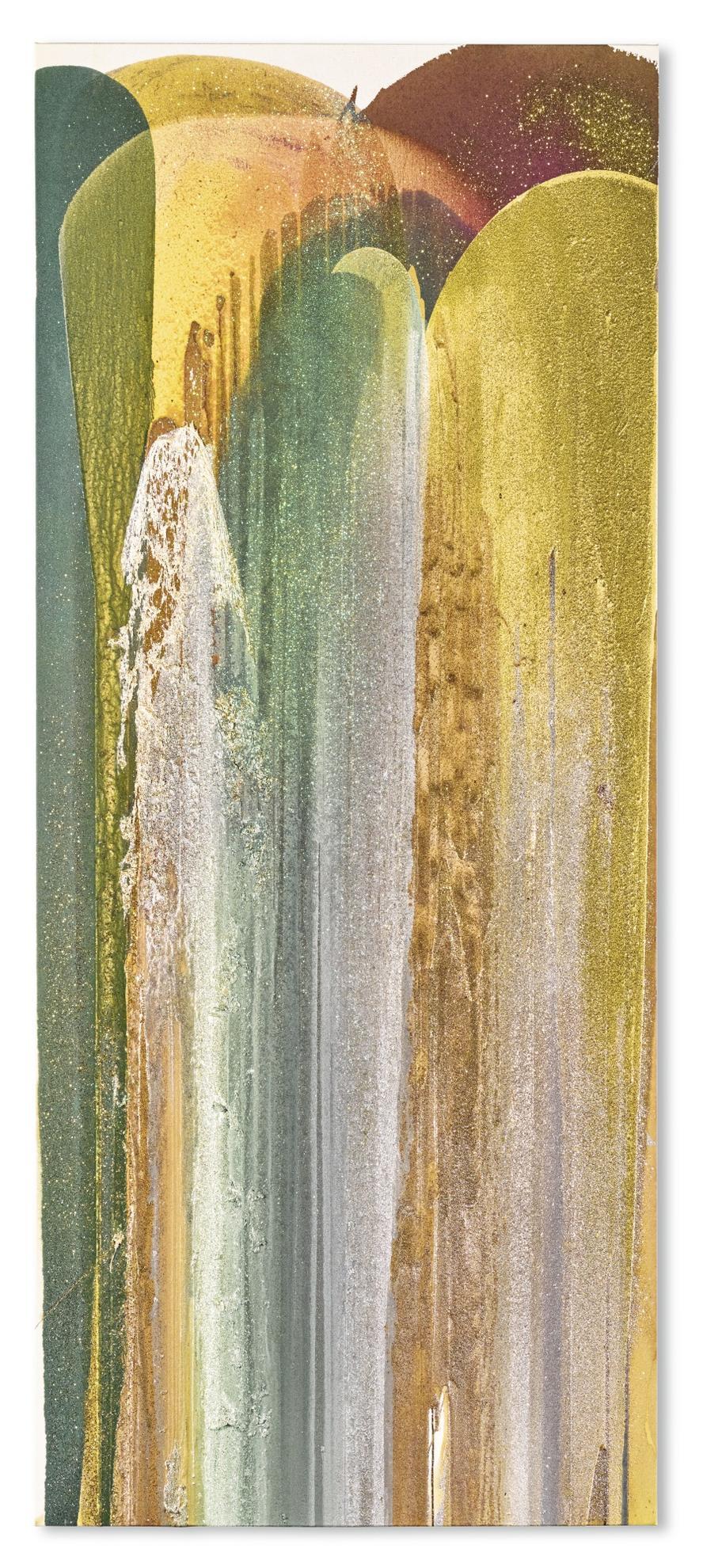 John Armleder-Leucanthenum Vulgare-2003