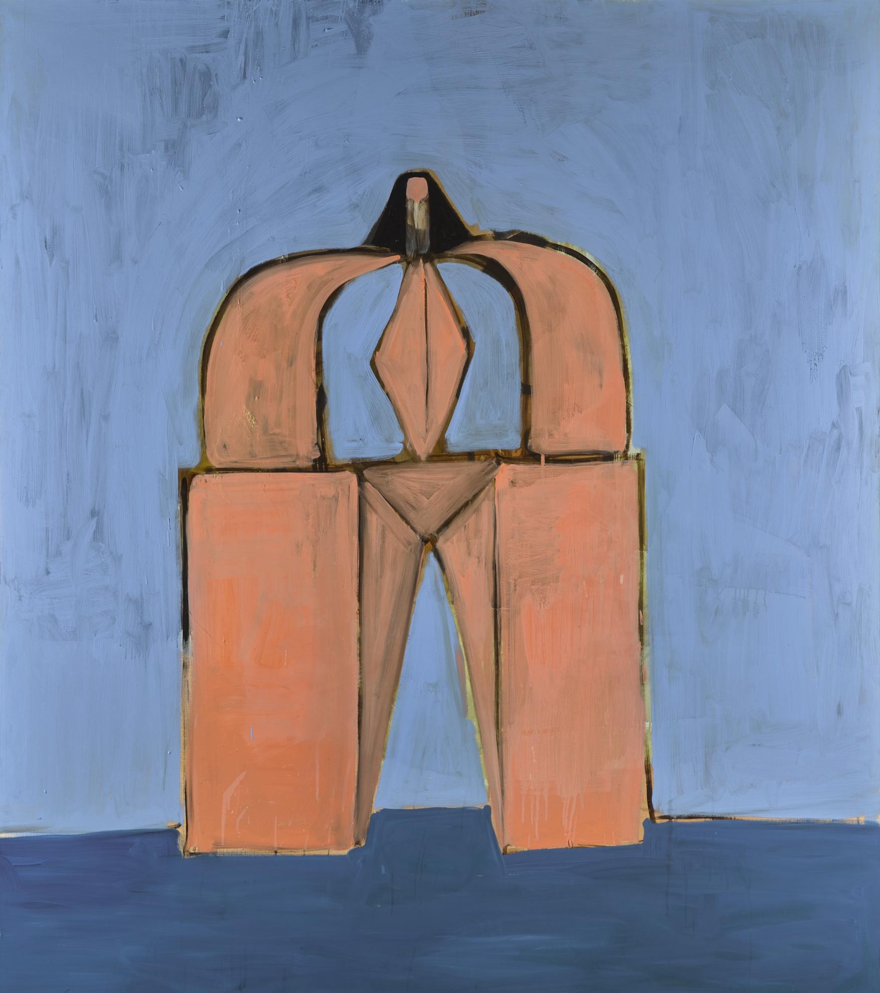 George Condo-Portrait Of The Unknown-1991