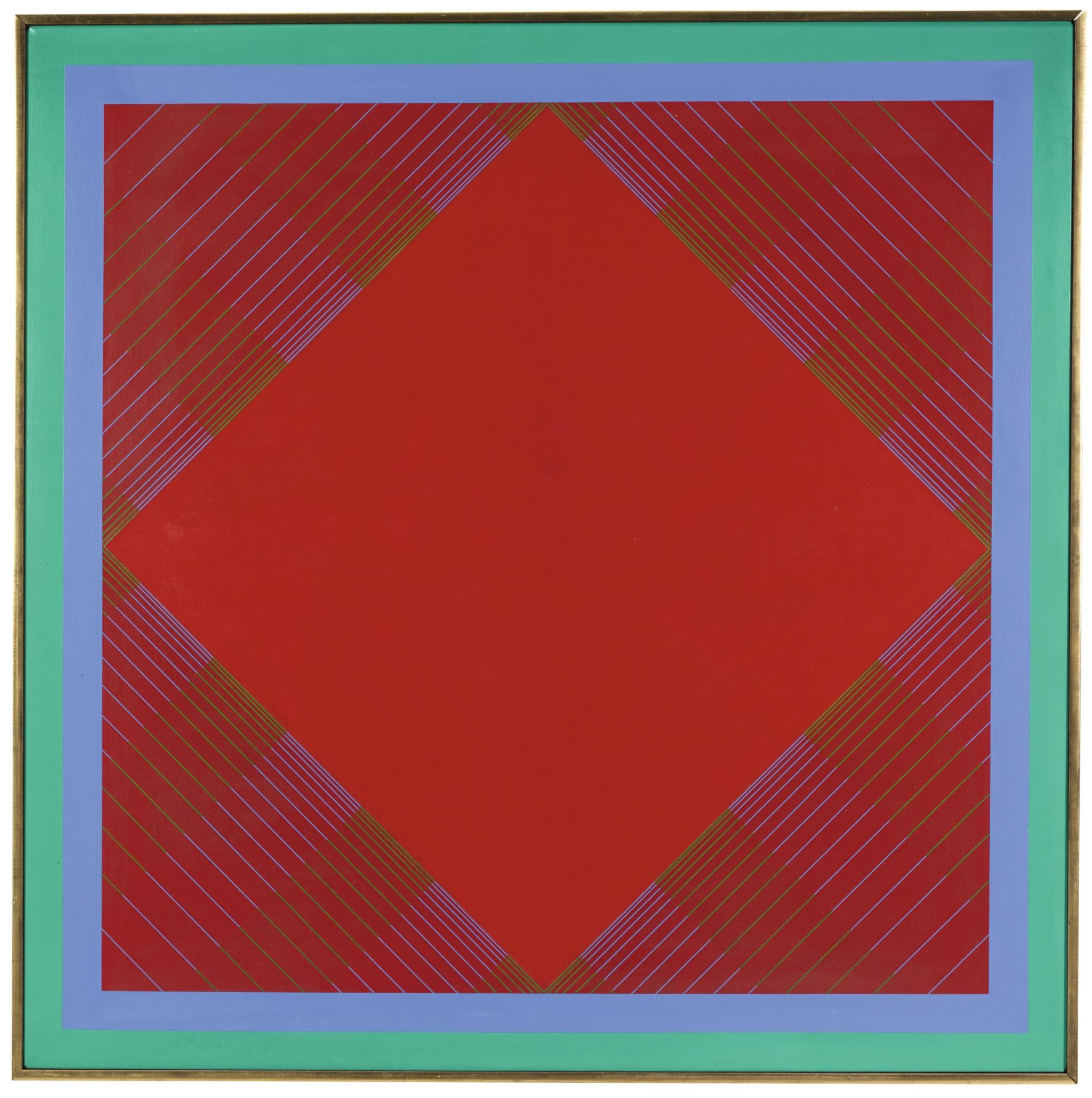 Richard Anuszkiewicz-Radial-1965