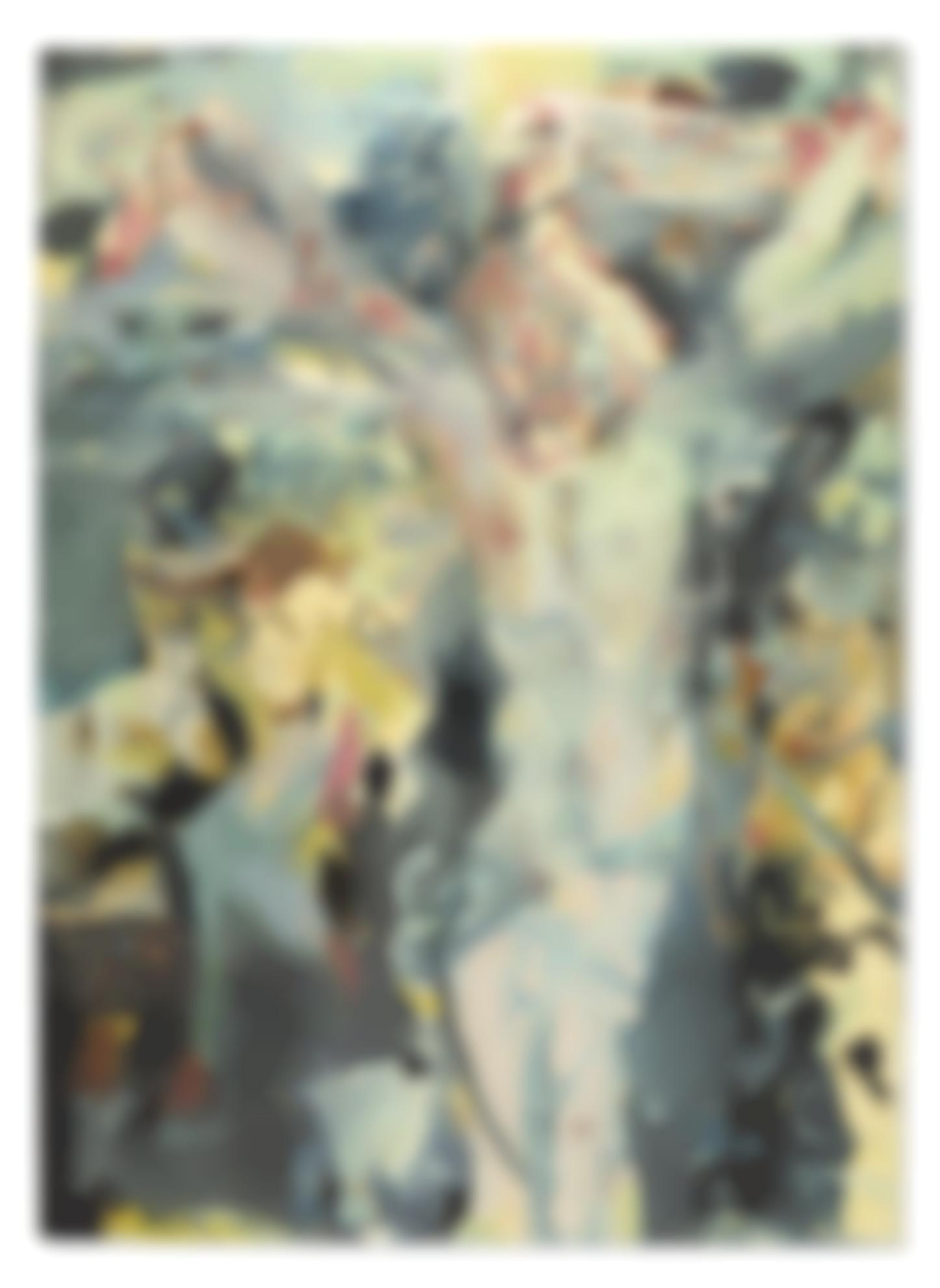 Cecily Brown-Untitled (Jesus Christ)-2007
