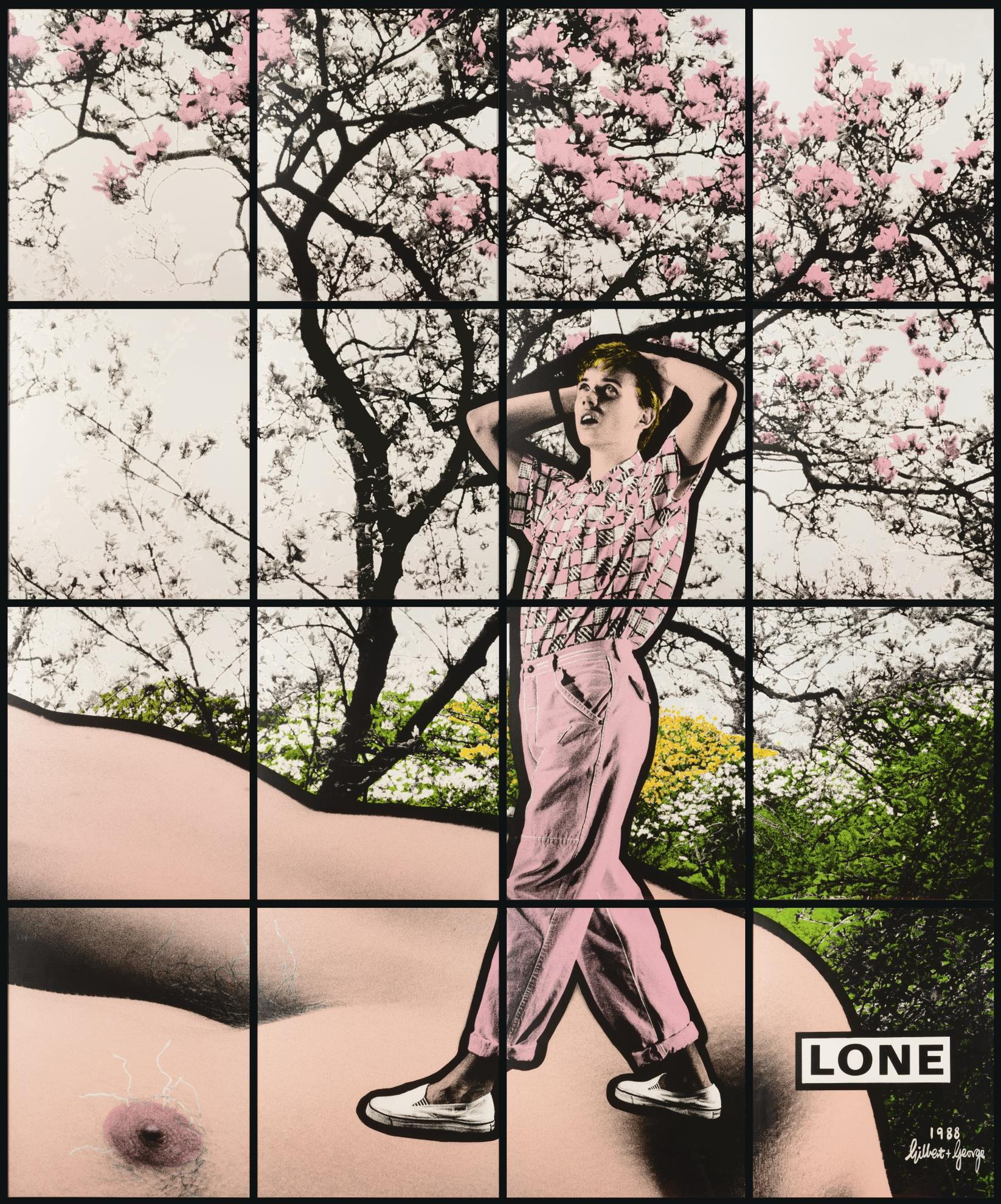 Gilbert and George-Lone-1988