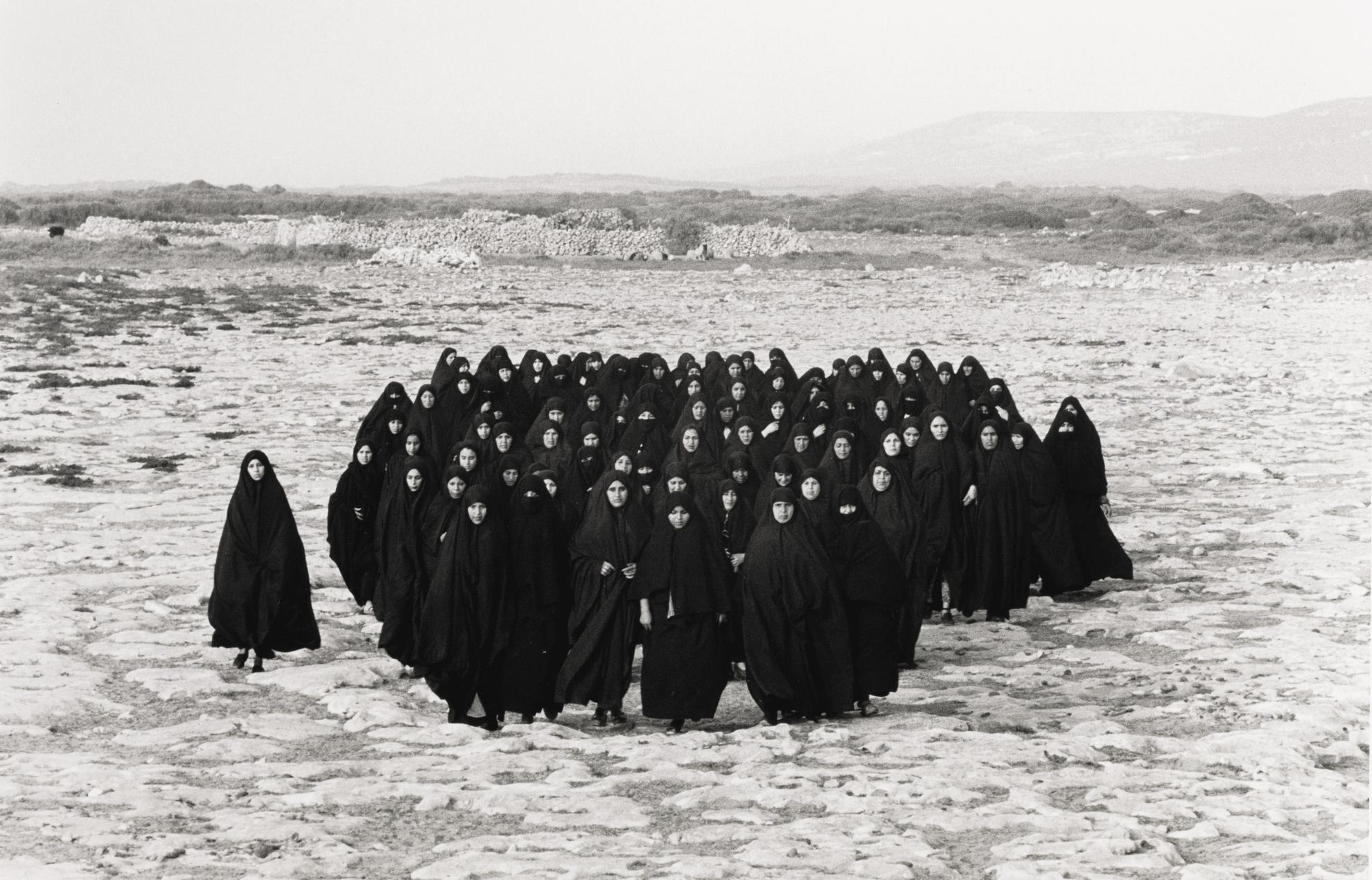 Shirin Neshat-Untitled (Rapture Series)-1999