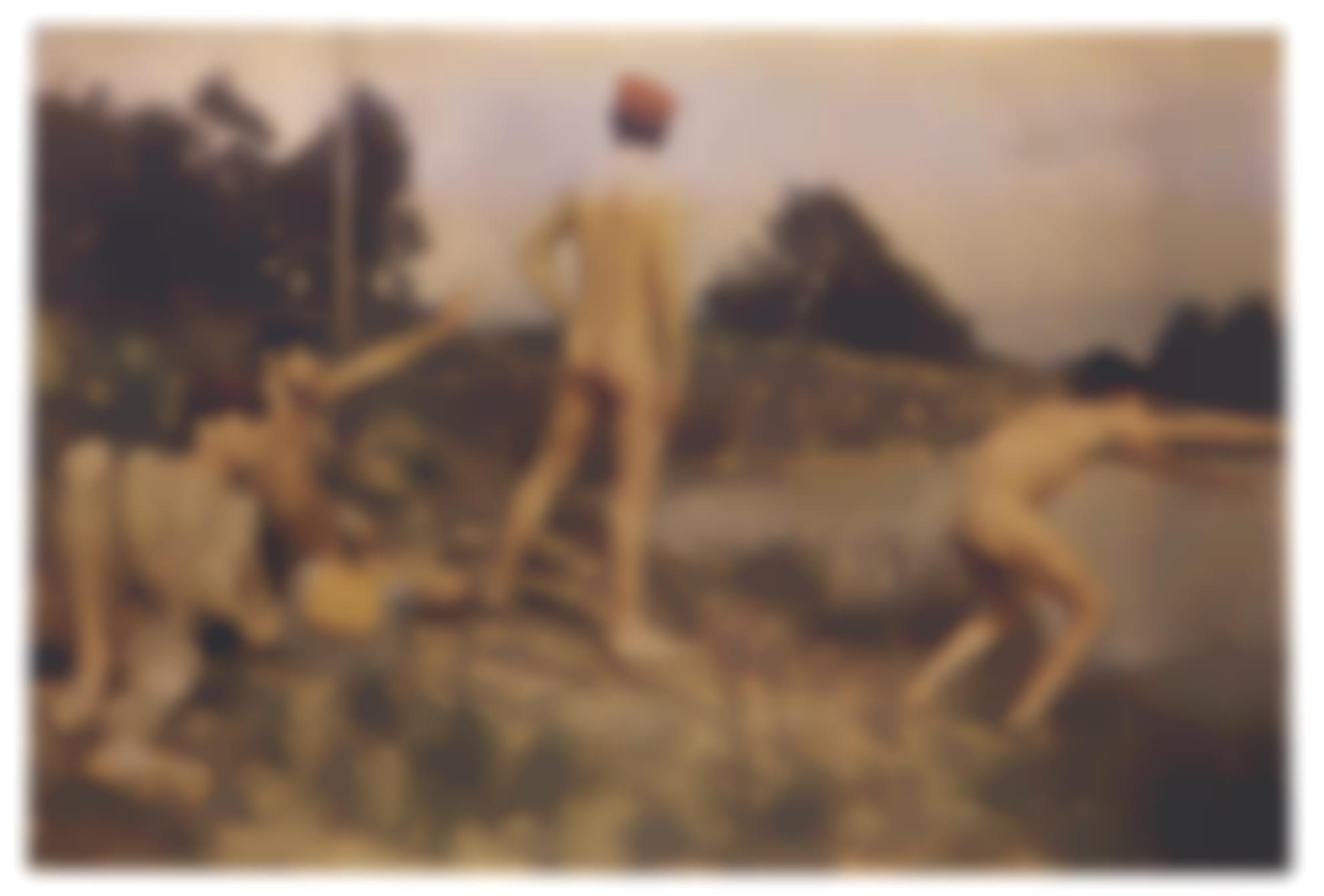 Alain Jacquet-Thomas Eakins Swimming Hole-1968