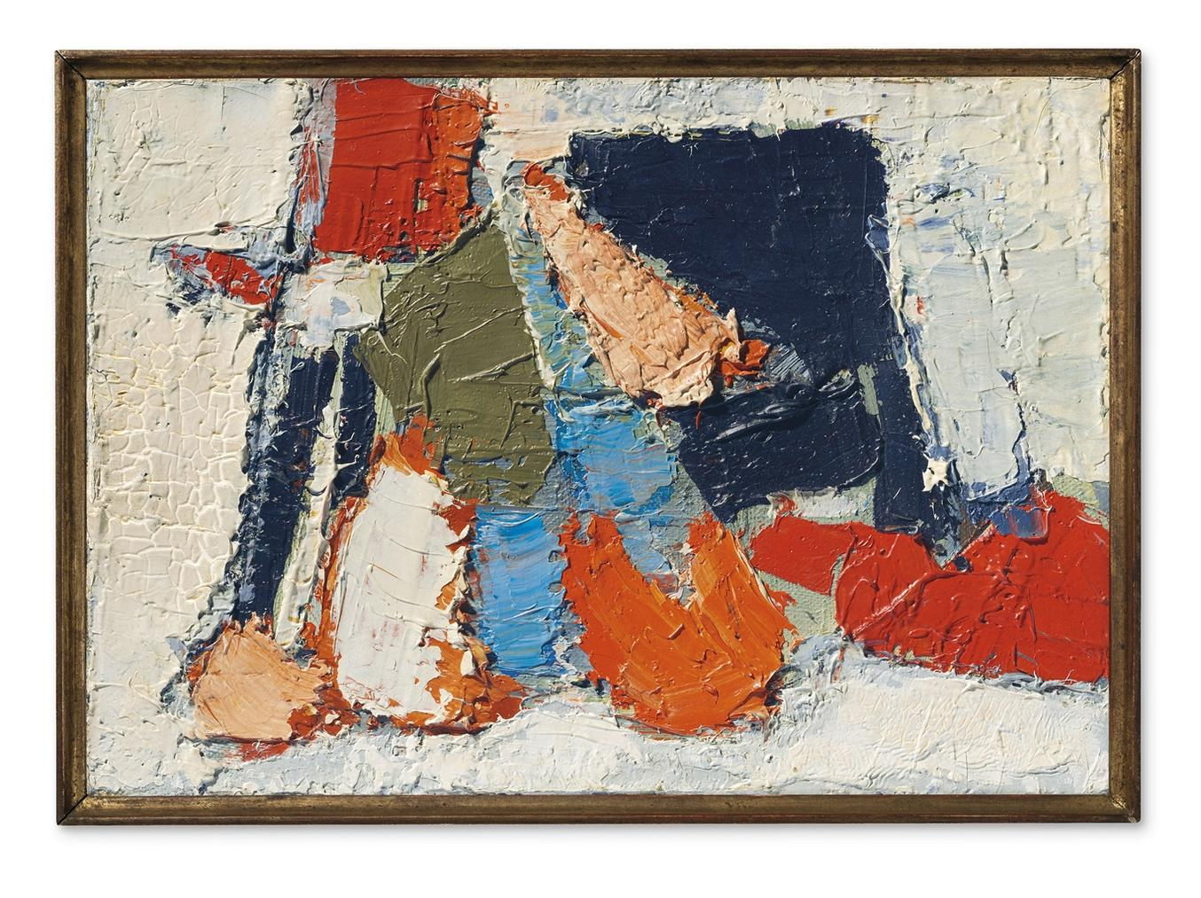 Nicolas de Stael-Composition-1950