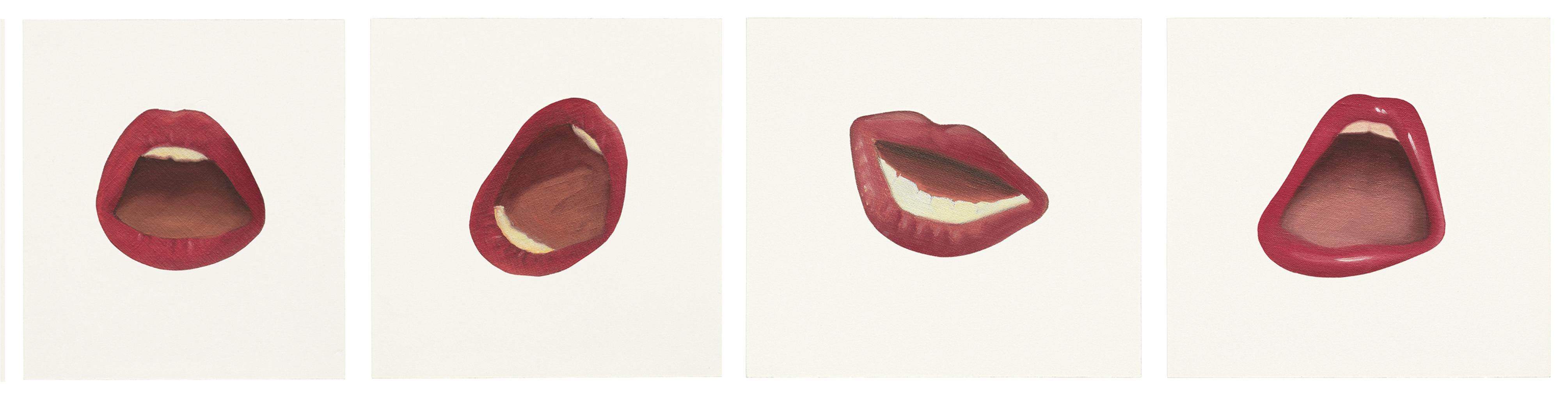 Tom Wesselmann-Mouth Fragments-1973
