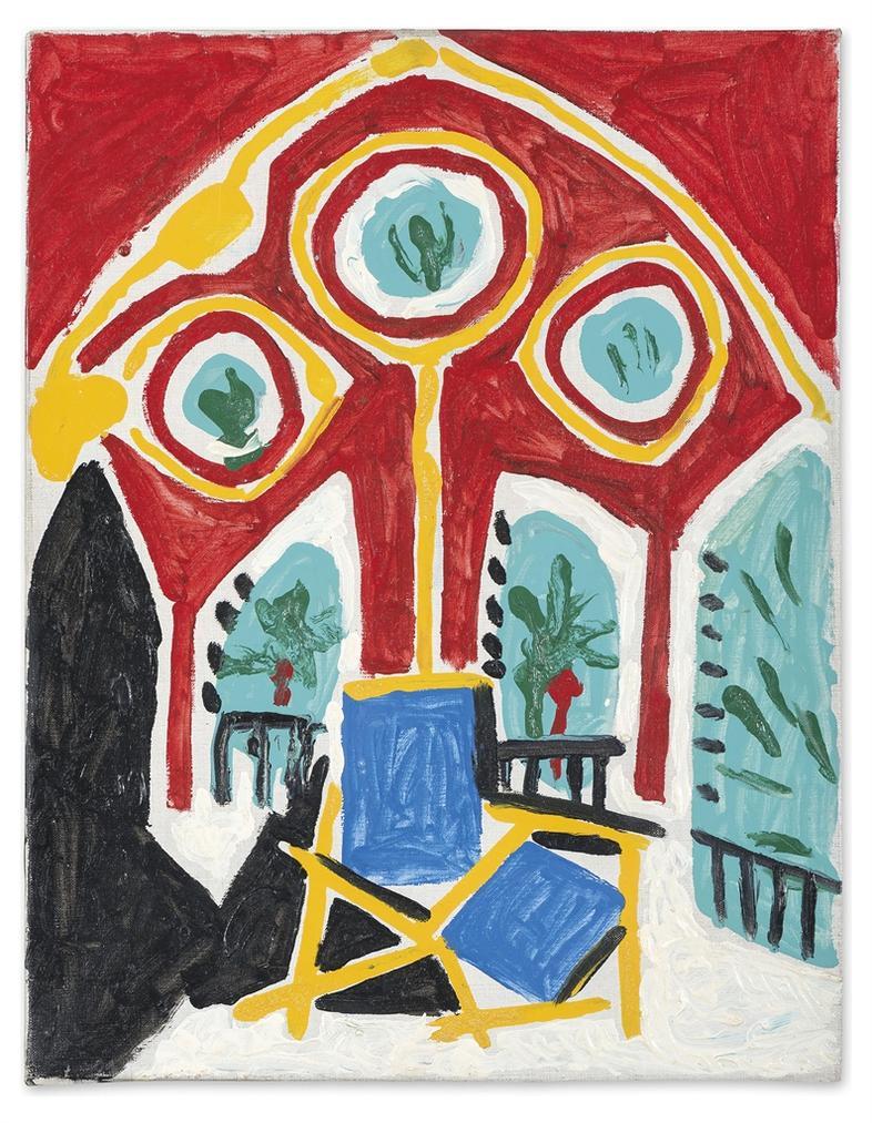 Pablo Picasso-La Fenetre De L'Atelier-1958