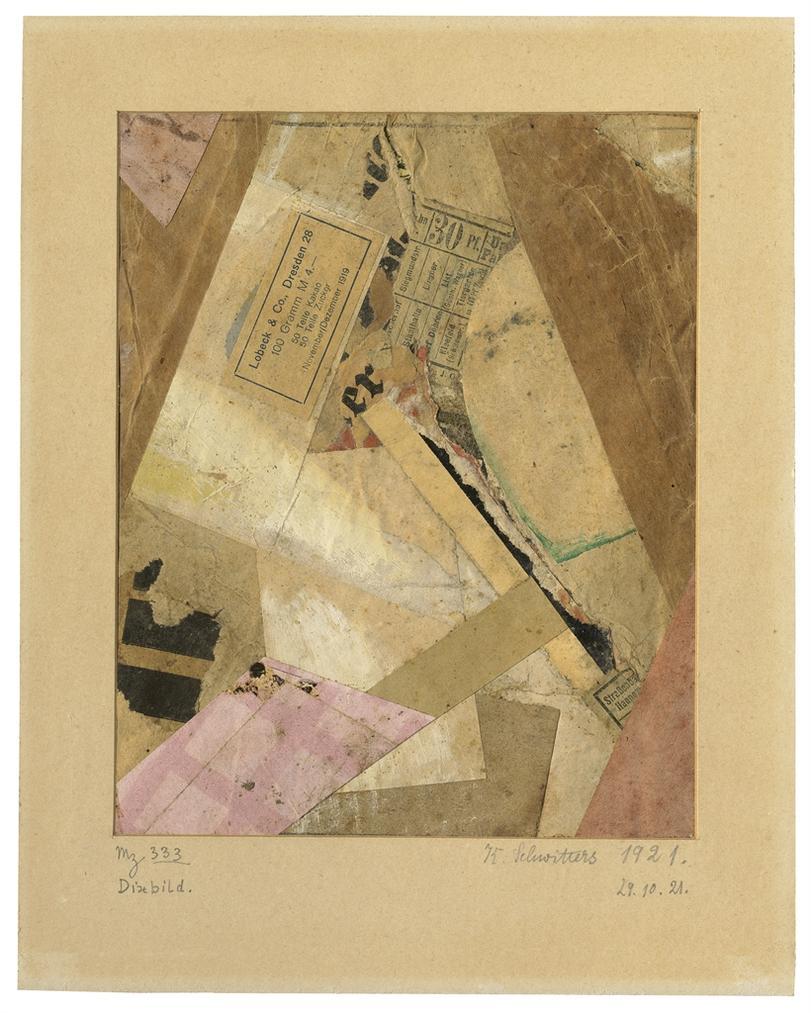 Kurt Schwitters-Mz 333 Dixbild-1921