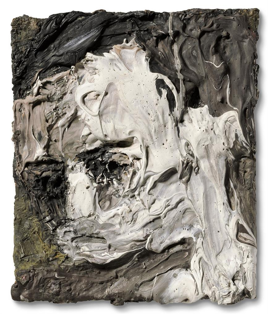 Frank Auerbach-Portrait Of Leon Kossoff-1953