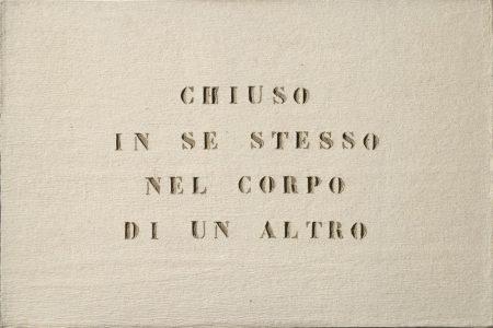 Vincenzo Agnetti-Ritratto Di Amante (Portrait Of Lover)-1971