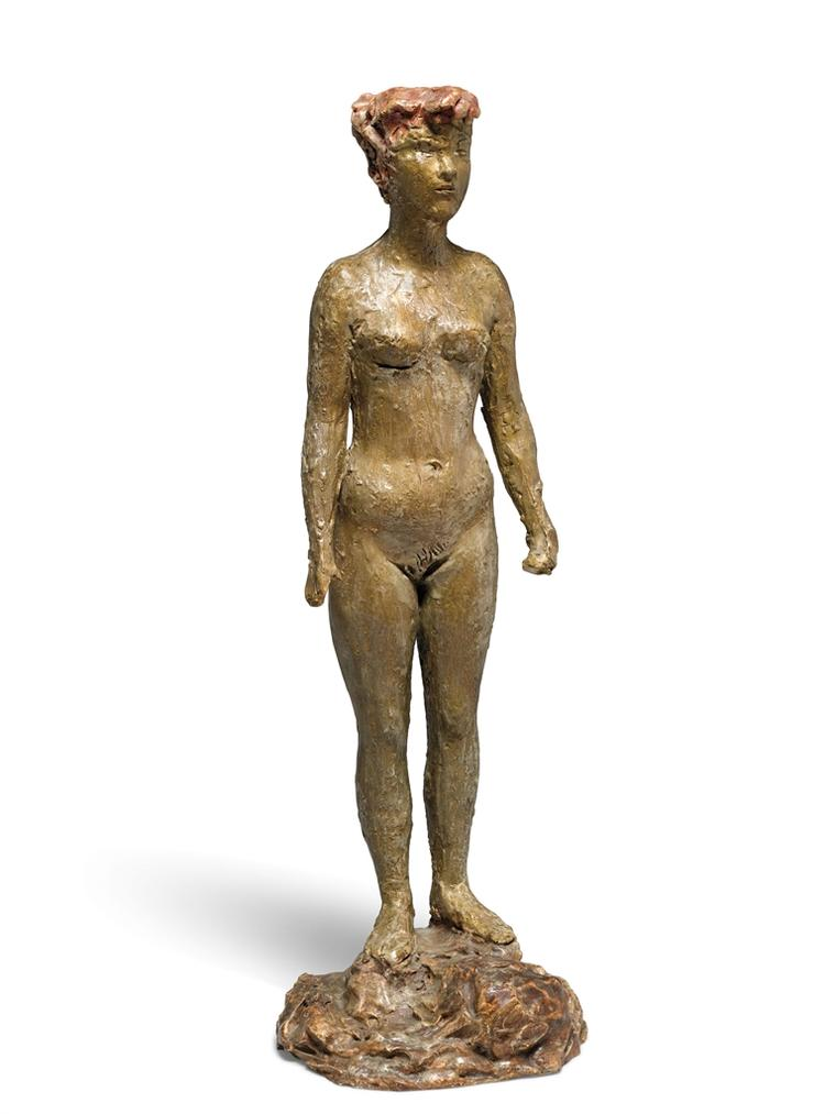 Lucio Fontana-Nudo In Piedi (Nude Standing)-1936