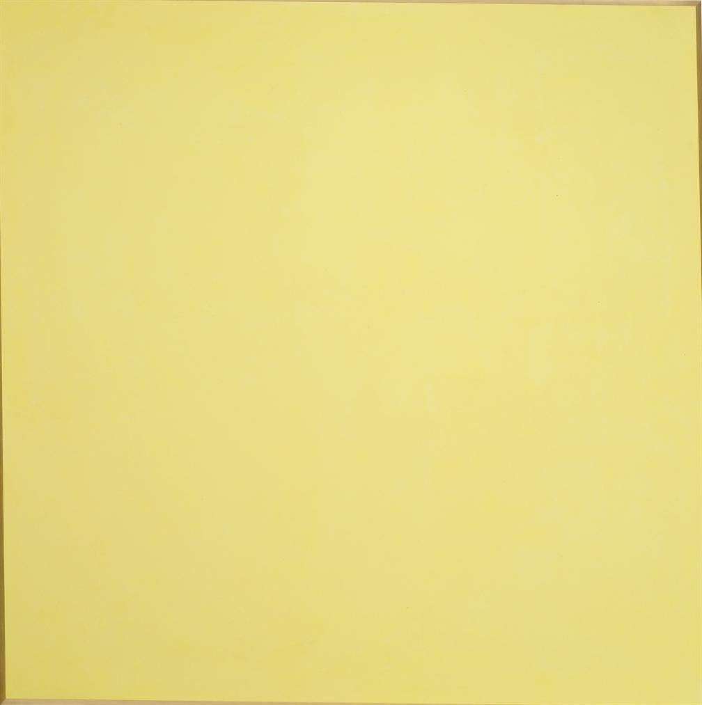 Ettore Spalletti-Girandola Giallo (Yellow Pinwheel)-2006