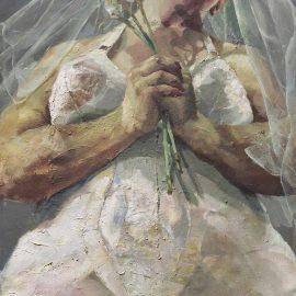 Jenny Saville-The Bride-1992