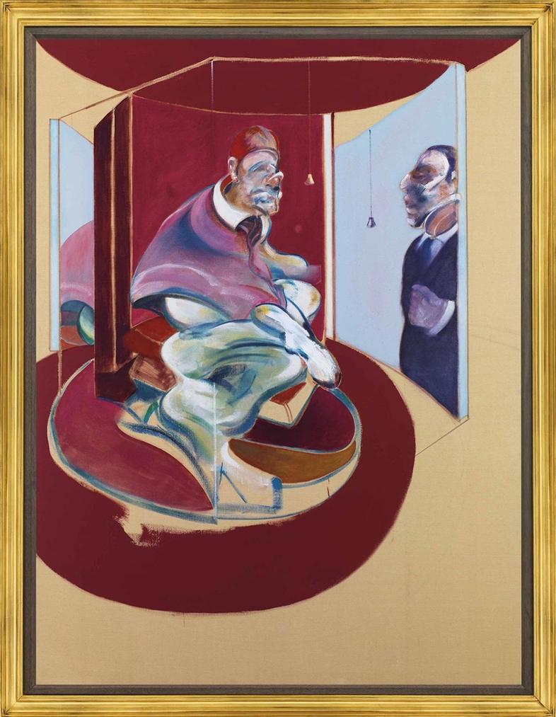 Francis Bacon-Study Of Red Pope 1962. 2Nd Version 1971-1971