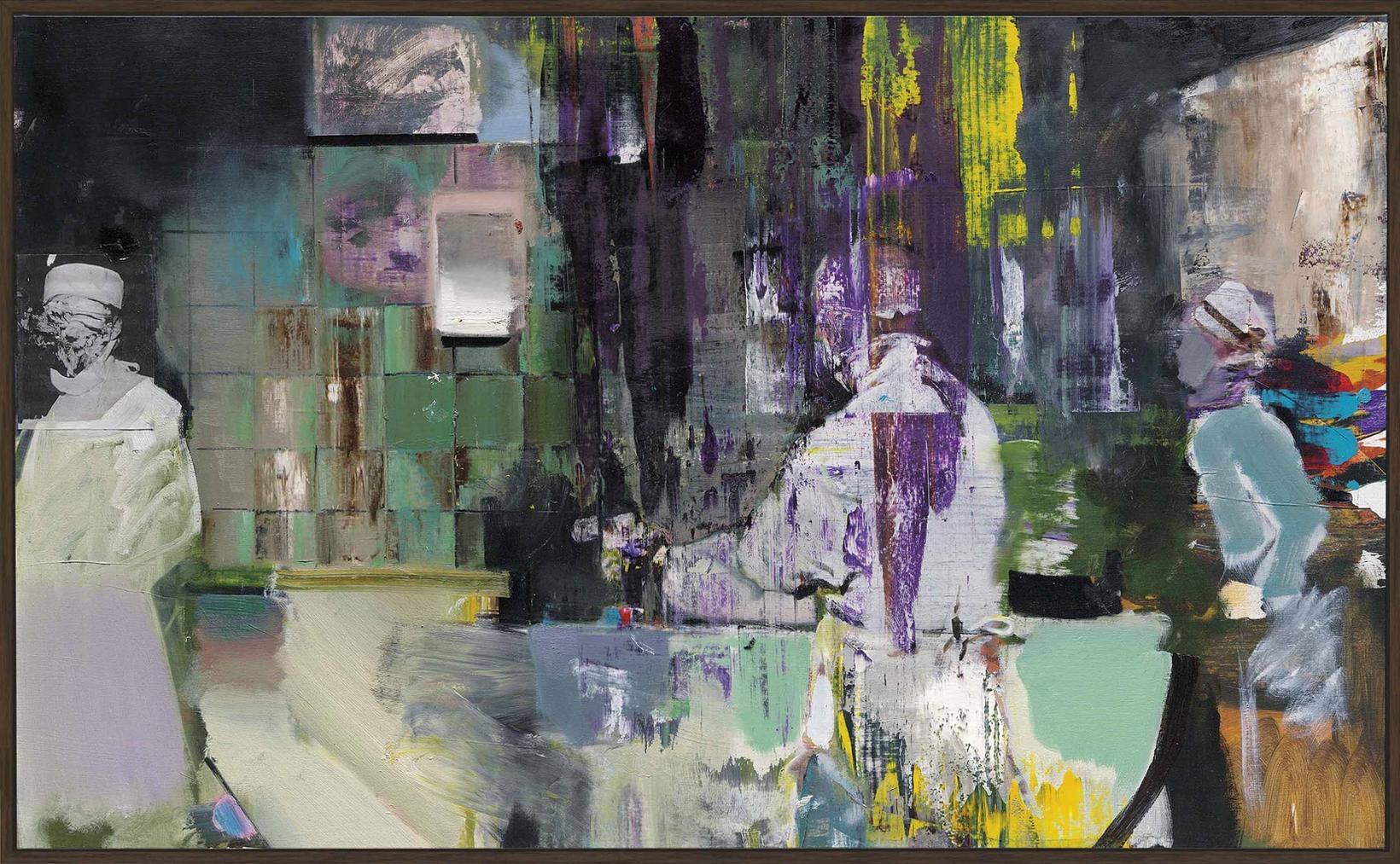 Adrian Ghenie-Untitled (Study For Kaiser Wilhelm Institute)-2011
