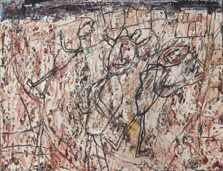 Jean Dubuffet-Banlieue (Suburb)-1954