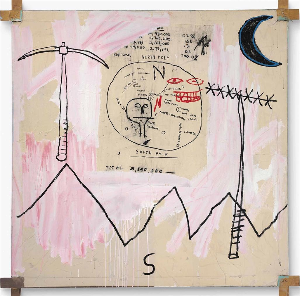 Jean-Michel Basquiat-Both Poles-1982