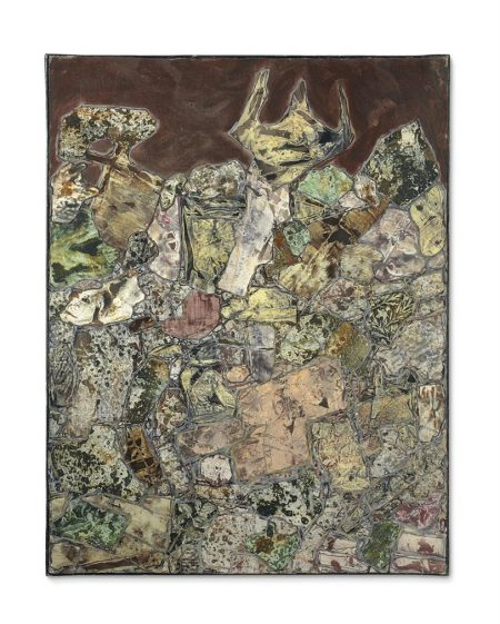Jean Dubuffet-Paysage Mineralogique-1955