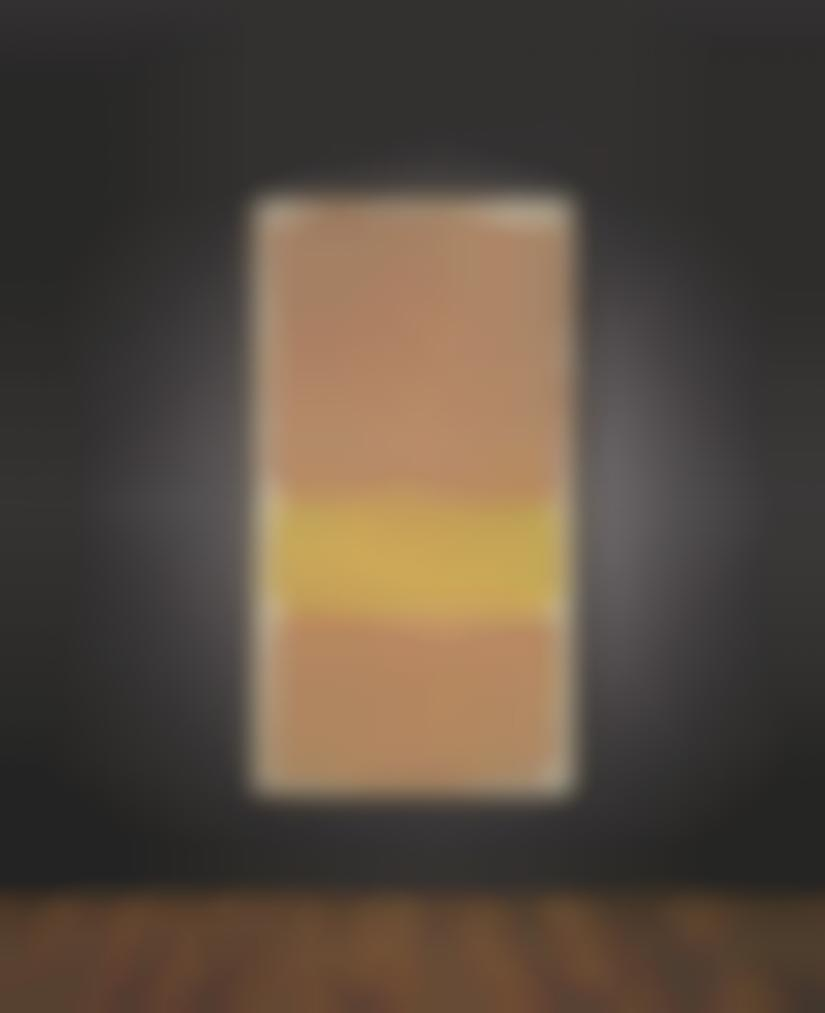 Mark Rothko-Untitled (Orange And Yellow)-1969