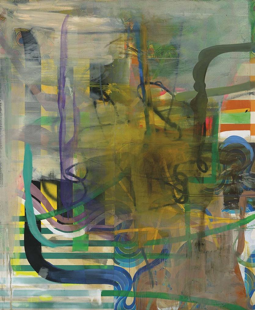 Albert Oehlen-Music Always-1994