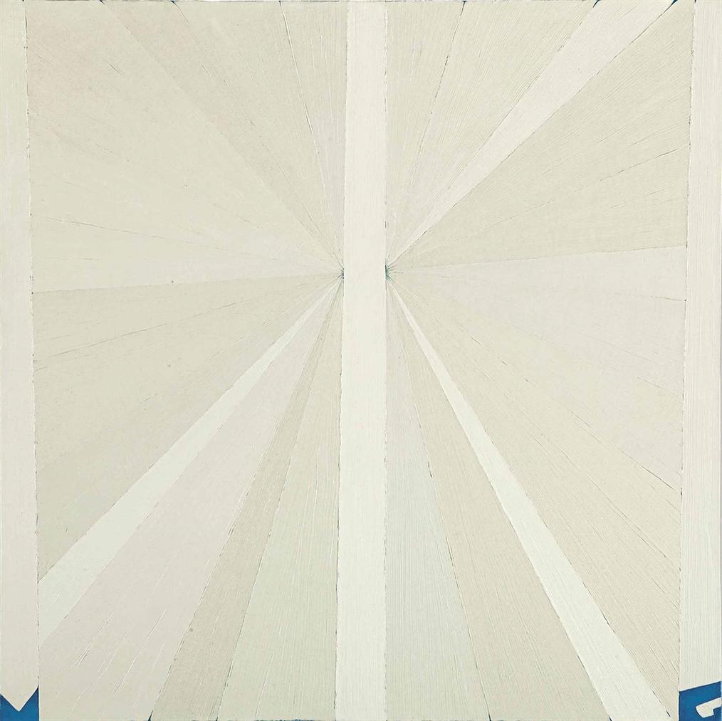 Mark Grotjahn-Untitled (White Butterfly)-2002