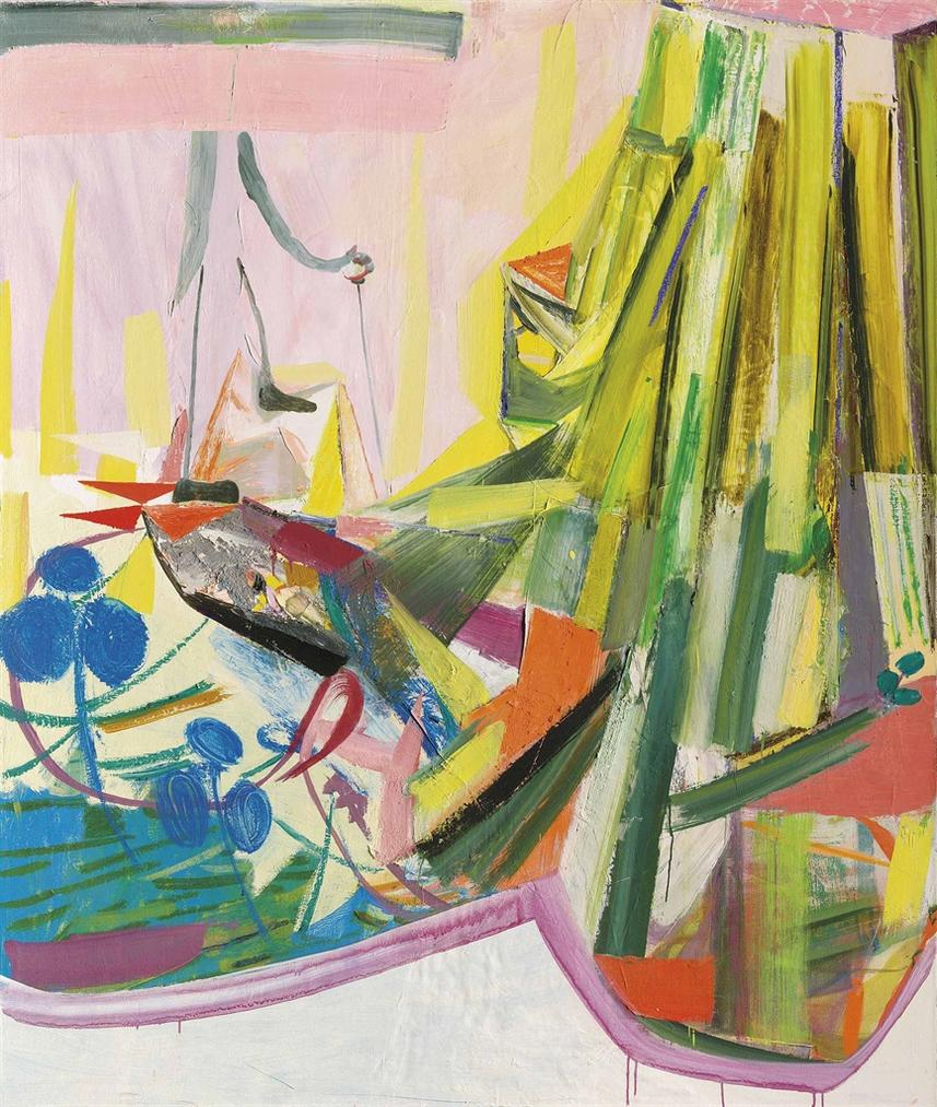 Amy Sillman-The New Land-2005