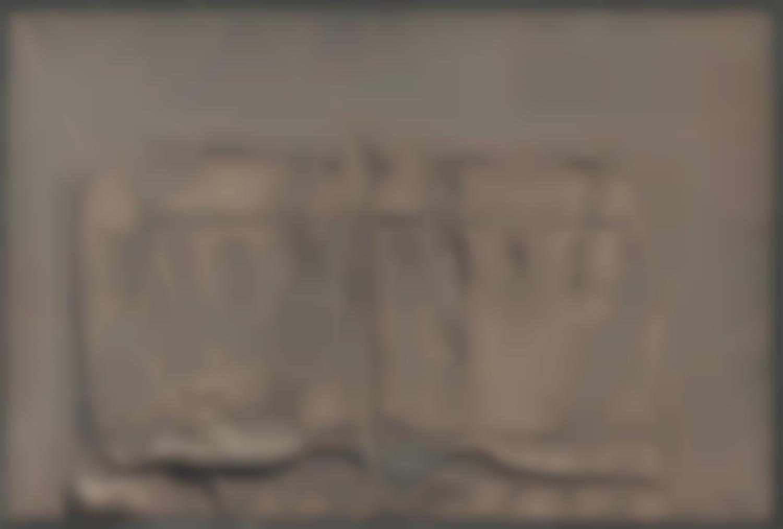 Antoni Tapies-Tot Marro Amb Rellen (All Brown With Relief)-1961