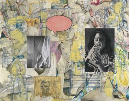 David Salle-Mingus In Mexico-1990