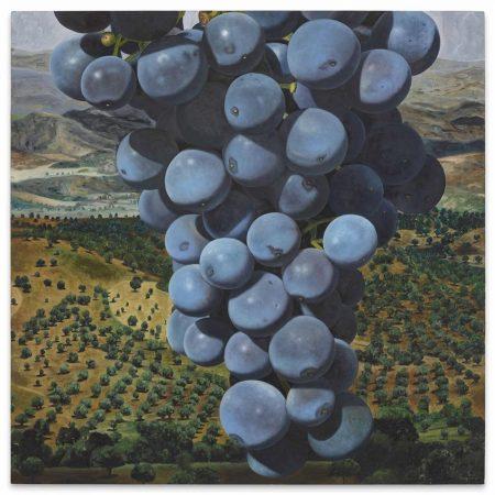 Karin Kneffel-Trauben (Grapes)-1997