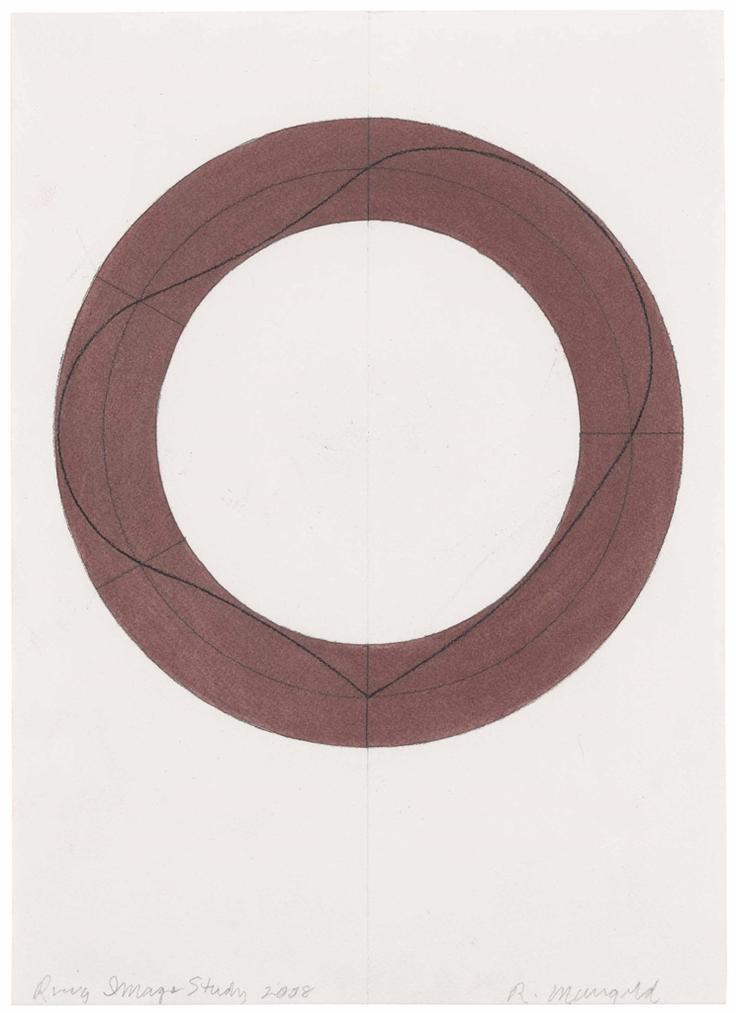 Robert Mangold-Ring Image Study-2008